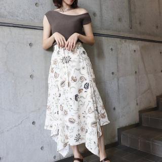 ムルーア(MURUA)の【新品未使用】定価7,900 MURUA スカート(ひざ丈ワンピース)