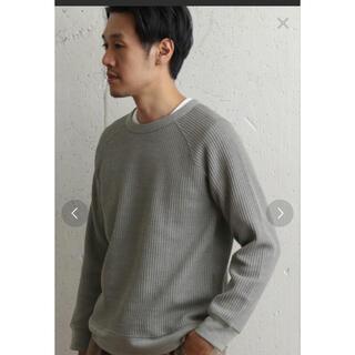 ドアーズ(DOORS / URBAN RESEARCH)のアーバンリサーチ ドアーズ トップス 40 グレー(Tシャツ/カットソー(七分/長袖))