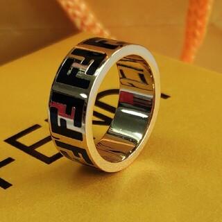 フェンディ(FENDI)のお勧め✩Fendiフェンディ リング 指輪 男女兼用(リング(指輪))