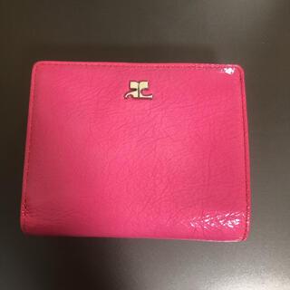 クレージュ(Courreges)のクレージュ ピンク お財布(財布)