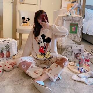 ディズニー(Disney)のミッキーマウス ふわふわ パジャマ (パジャマ)