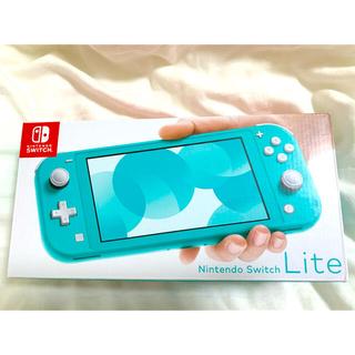 ニンテンドースイッチ(Nintendo Switch)の新品・未開封 任天堂スイッチライト Switch lite ターコイズ(携帯用ゲーム機本体)