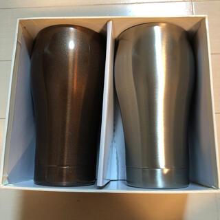 サーモス(THERMOS)の【新品未使用】ステンレスペアサーモカップ stainlessmag(グラス/カップ)