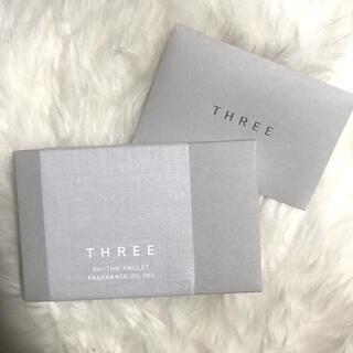 スリー(THREE)の【非売品】THREE フレグランスオイル ケース サンプル4点付き (香水(女性用))