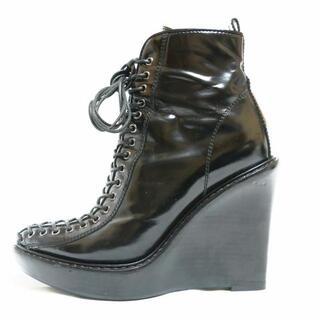 ジバンシィ(GIVENCHY)のジバンシー ショートブーツ 37 A - 黒(ブーツ)