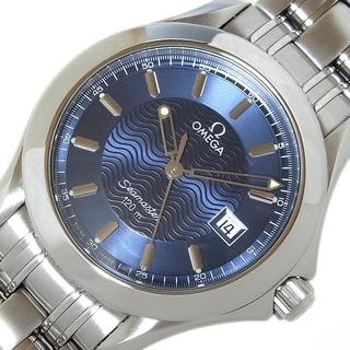 オメガ(OMEGA)のオメガ OMEGA シーマスター120m 腕時計 メンズ【中古】(金属ベルト)