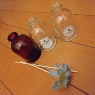 インテリア瓶&アロマ用スティック2本セット(アロマグッズ)