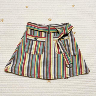 Caramel baby&child  - caramel キャラメル マルチストライプ スカート