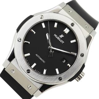 ウブロ(HUBLOT)のウブロ HUBLOT クラシックフュージョン オパリン 腕時計 メンズ【中古】(ラバーベルト)