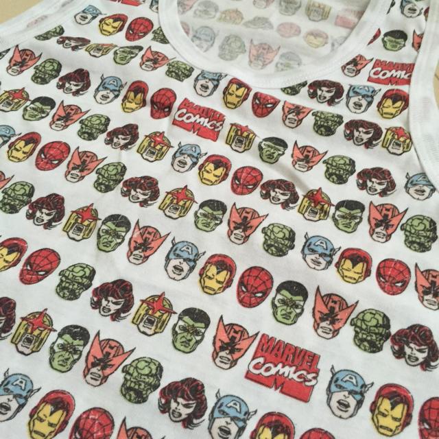 GU(ジーユー)のGU  marvel タンクトップ♡ メンズのトップス(タンクトップ)の商品写真