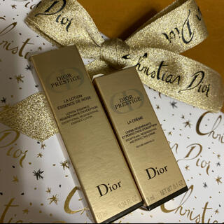 Christian Dior - Dior ディオール サンプル プレステージ 化粧水 クリーム 箱有り