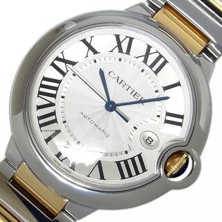 カルティエ(Cartier)のカルティエ Cartier バロンブルー 42mm 腕時計 メンズ【中古】(金属ベルト)