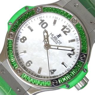 ウブロ(HUBLOT)のウブロ HUBLOT ビッグバン トゥッティフルッティ アップル 腕時【中古】(腕時計)