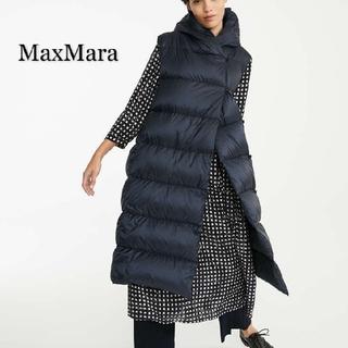 マックスマーラ(Max Mara)ののん877様専用 MaxMara THE CUBE  ロングジレ ダウンベスト(ダウンベスト)