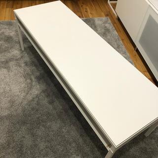 イケア(IKEA)の美品★IKEA NYBODA ニーボーダ テーブル リバーシブル(ローテーブル)