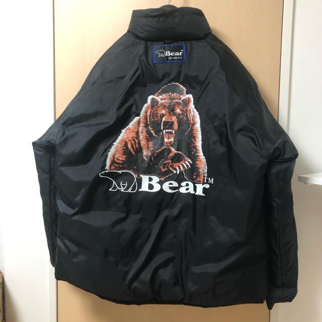 Bear USA(ベアー)の90S BEAR リバーシブルナイロンダウンジャケット ヌプシ 古着 メンズのジャケット/アウター(ダウンジャケット)の商品写真