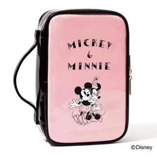 ミッキーマウス(ミッキーマウス)の新品 ミッキー&ミニーデザインのドレッサーポーチ(メイクボックス)