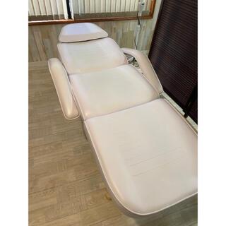 【中古】マツエク エステ ベッド 施術用(簡易ベッド/折りたたみベッド)