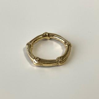 ティファニー(Tiffany & Co.)のVintage Tiffany&co 18k Bamboo Ring バンブー(リング(指輪))