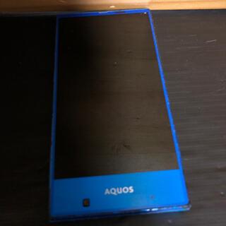 アクオス(AQUOS)のSHARP AQUOS SHV31 Android 可動品 ジャンク(スマートフォン本体)