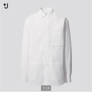 ジルサンダー(Jil Sander)のユニクロ J スーピマコットンオーバーサイズシャツ(シャツ)