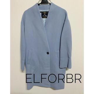 エルフォーブル(ELFORBR)の◆ELFORBR◆ロングコート Blue(ロングコート)