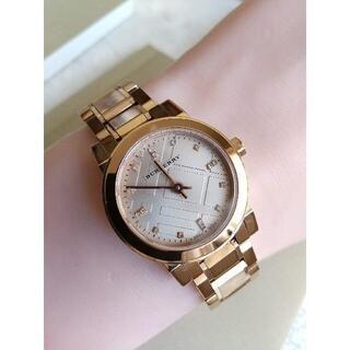 BURBERRY - バーバリー BURBERRY 腕時計 16Pダイヤ レディースクォーツ