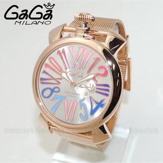 new concept 58106 e9513 人気 ガガミラノ 腕時計 ゴールド❷