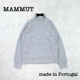 マムート(Mammut)のMAMMUT マムート フリース プルオーバー アウトドア ロゴ刺繍 レア(登山用品)