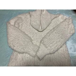 ティティアンドコー(titty&co)のティティアンドコー 肩開きセーター(ニット/セーター)