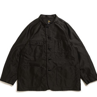 ニードルス(Needles)のCHORE COAT-COTTON MOLESKIN BLACK M(カバーオール)