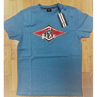 ベアー(Bear USA)のベアー・サーフボード ジャストロゴ Tシャツ S サイズ 【ライトブルー】(Tシャツ/カットソー(半袖/袖なし))