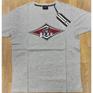 ベアー(Bear USA)のベアー・サーフボード ジャストロゴ Tシャツ Sサイズ【グレー】(Tシャツ/カットソー(半袖/袖なし))