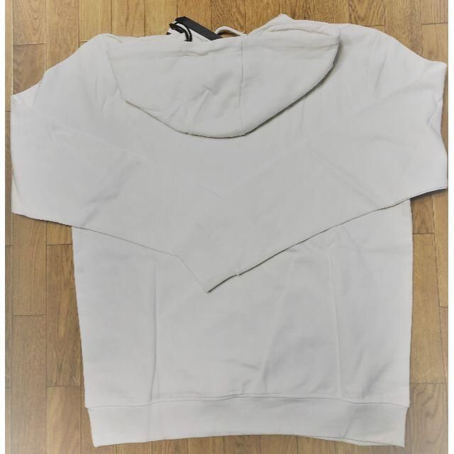 Bear USA(ベアー)のベアー・サーフボード フーディ ジャストロゴ Mサイズ【ホワイト】 メンズのトップス(パーカー)の商品写真
