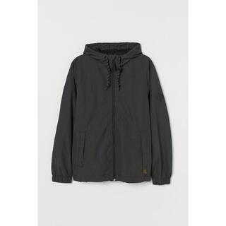 エイチアンドエム(H&M)の[新品] L | H&M | ナイロン ウインド ブレーカー | ダークグレー(ナイロンジャケット)