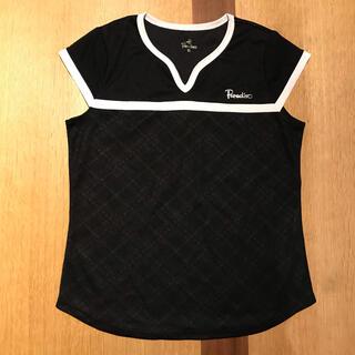 パラディーゾ(Paradiso)の値下げ!パラディーゾ ゲームシャツSサイズ 黒 美品(ウェア)