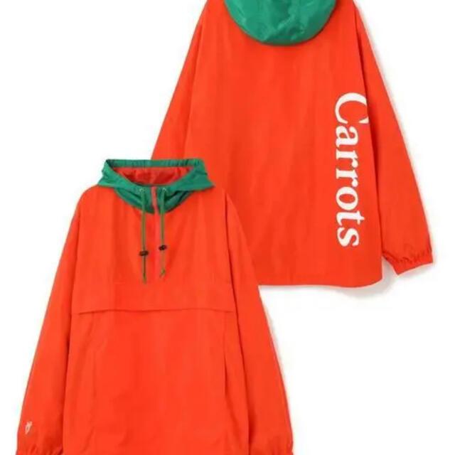 XLARGE(エクストララージ)のxlarge carrot 新品未使用 メンズのジャケット/アウター(ナイロンジャケット)の商品写真