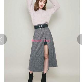 リゼクシー(RESEXXY)のレイヤードツイードフレアスカート♡(ロングスカート)