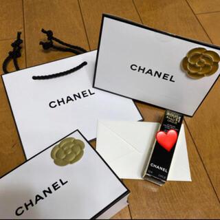 CHANEL - シャネル ショッパー カメリアシール 新品未使用 メッセージカード