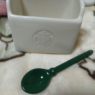 スターバックスコーヒー(Starbucks Coffee)のSTARBUCKS スティック入れ陶器製(小物入れ)