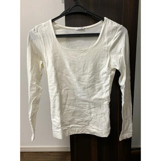 ハニーズ 白Tシャツ ロンT  Sサイズ カットソー