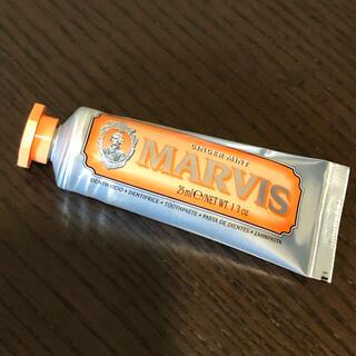 マービス(MARVIS)のMARVIS GINGER MINT 25ml (おまけ付き)(歯磨き粉)