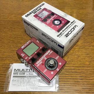 ズーム(Zoom)の【ZOOM】MULTISTOMP MS-60B マルチストンプ ベース用(ベースエフェクター)