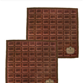 Q-pot. - キューポット カフェ チョコレートハンドタオル2枚セット Q−pot 新品