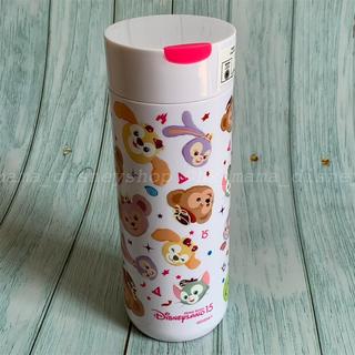 ダッフィー(ダッフィー)の香港ディズニー新商品🌟15周年記念 ダッフィーフレンズ 保温ボトル タンブラー(水筒)