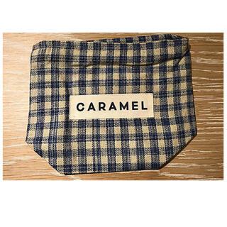 caramel babychild  キャラメル ポーチ