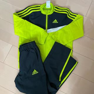 adidas - adidas アディダス ジャージ 120 黄緑 黒