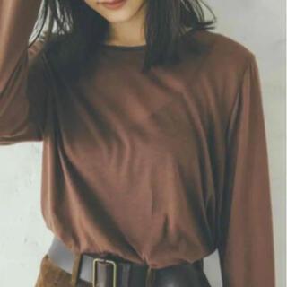 トゥデイフル(TODAYFUL)のhella sheer shirt (Tシャツ/カットソー(七分/長袖))