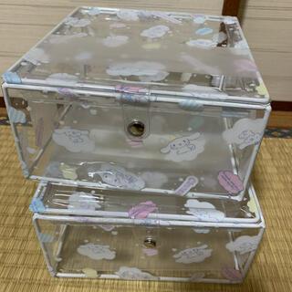 サンリオ(サンリオ)のシナモロール クリアボックス(ケース/ボックス)