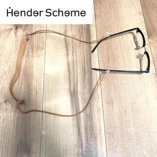 エンダースキーマ(Hender Scheme)の【希少】Hender Scheme  エンダースキーマ グラスコード YAECA(サングラス/メガネ)